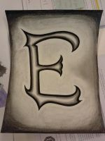 The Letter E by FurFurTheFurryMouse