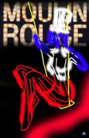 Moulin Rouge Show Poster by Sv7Sa4