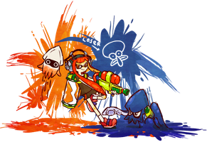 Splatoon!!! by apostlebird