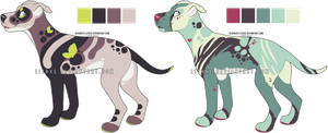 [Adopts - OPEN - $ REDUCED] Great Danes 02 by lithxe