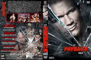 WWE Payback 2013 DVD Cover V2 by Chirantha