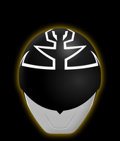 Gokai Silver Helmet - Gold Mode by Yurtigo