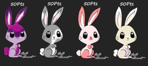 Bunny Adopts [OPEN 50Pts Each] by SnuggieBoo