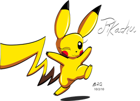 Yuelover's Pikachu by Bowser2Queen