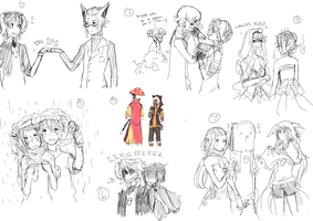 Poketown: Sketches! by Lilycal