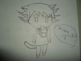 Chibi Kitty Yusei Fudo by Fallinginreverse1298
