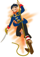 Swing Into Action! Captain Barbel by ArtistMeli
