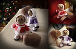 Ice Climbers Custom Plush by Peluchiere