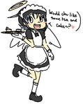 Maid Ren by couch-san