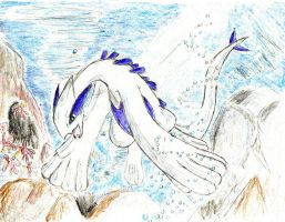 Lugia by darknight0x0