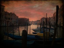 EVENING LIGHT VENICE by TADBEER
