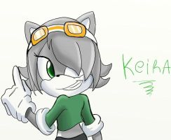 Keira the hedgehog :AT: by moriko2maki