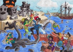 Pirates des Tsukibes by Neruall