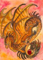 ACEO Dragon 33 by rachaelm5