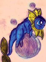 PKMN+PPG: Bubblereon Used Fly by AlicornMoonstar