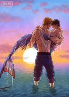 AU Mermen by Cris-Art