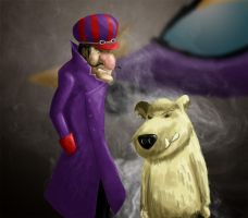 Dastardly and Muttley by shweebie