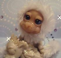 ooak snow baby 2 by crazylittlecritters