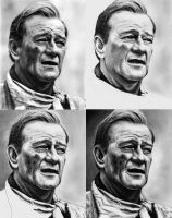 John Wayne - Ref Pic and WIPs by Doctor-Pencil
