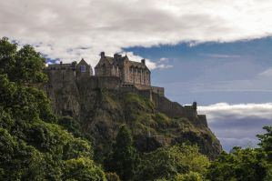 Edinburgh Castle by daliscar