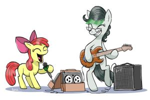 Front Page and Apple Bloom by Pedantia