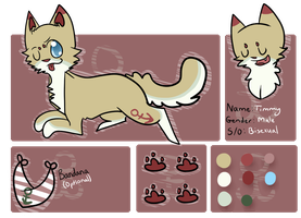 Timmy Reference Sheet 2013 by campfyre