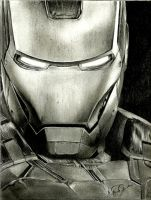 IRONMAN OF THE AVENGERS by MalfSilentdark