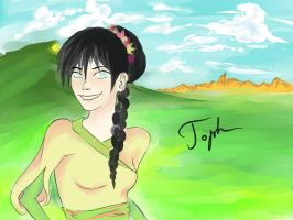Toph grew up by 000sandwich000