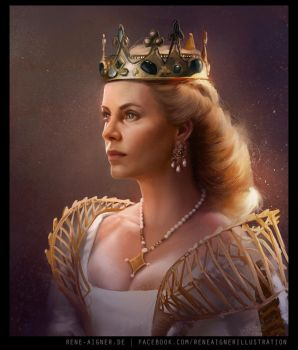 The Queen by ReneAigner