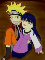 NaruHina: I'll Save You Color by xmizuwaterx