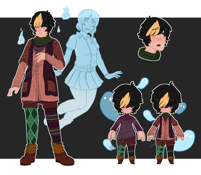 Adoptable - Mori Ghost Boy (AUCTION: CLOSED) by cindyjeans-designs
