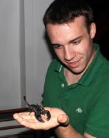 Laotian Forest Scorpion - Cambodia by BlackGryph0n
