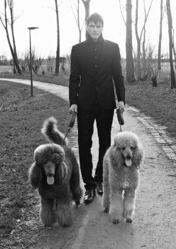 Sacha and the poodles by AntonellaB