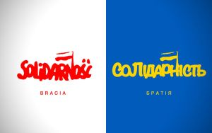 Solidarnosc - Solidarity with Ukraine by ManePL