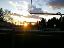 Last Football Game for Band by LCMorganTDA