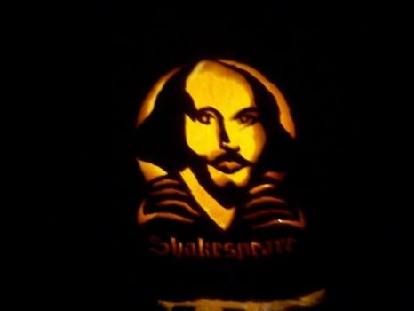 Shakespeare Pumpkin by SakuraGirl31