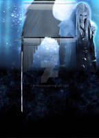 Sephiroth Youtube Background by Athraxas