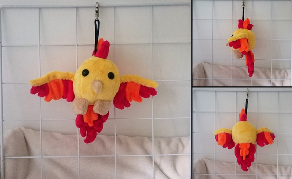 Moltres Hanging Blob by Shevmo
