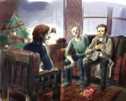 Supernatural - Merry Christmas by Resosphere