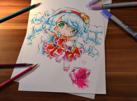 Sweetheart Annie Chibi by Lighane