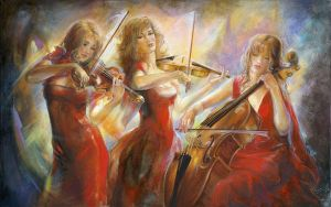The Three Musicians by snore23