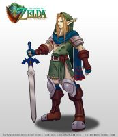 TLOZ The Two heroes Link Kokiri Concept by SoyUnGnomo