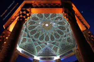 Tomp Of Hafez by CG-HamidReza