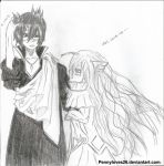 Mavis and Zeref by Pennyloves26
