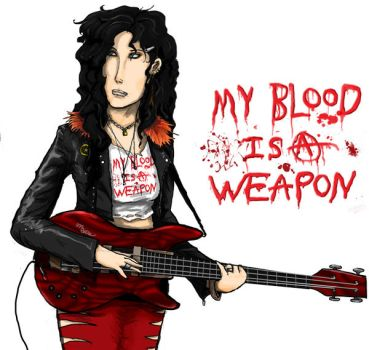 My Blood is a Weapon by Mekari