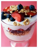 Fruit and Yogurt Parfait. by cb-smizzle