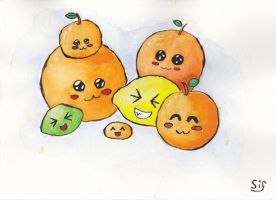 The citrus family by Sifelif