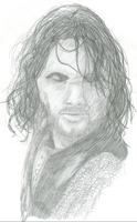 Aragorn at Helms Deep by Nar-Amarth