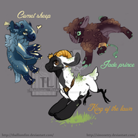 Jollecatl 2015 Year of the Sheep Auction Open by Thalliumfire