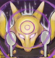 Alakazam by AxMongrel
